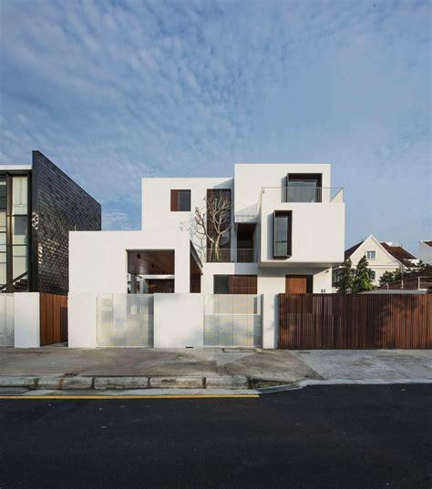 textured front facade modern box home best 25 house facades ideas on pinterest modern house