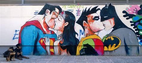 Superhero Wall Murals worldwide amazing superhero graffiti amp street art