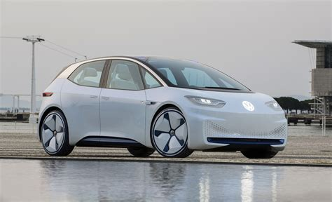 future volkswagen the volkswagen id concept is the future of motoring
