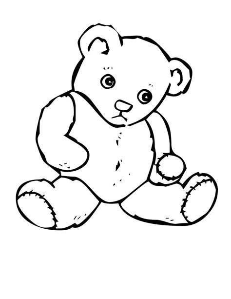 teddy bear coloring pages to print free printable teddy bear coloring pages for kids