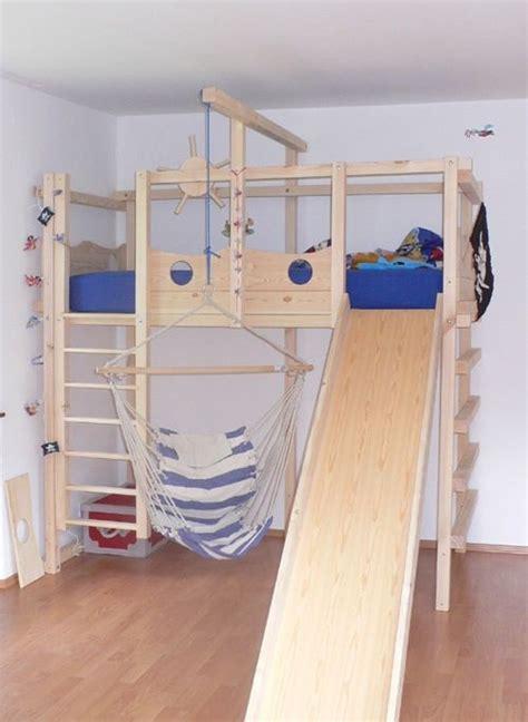 ausgefallene kindermöbel abenteuerbett spielbett kunde16 jpg bett selber bauen