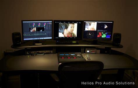 Pro Edit Desk by Aka Design Proedit Configuration B Meubilair Racks