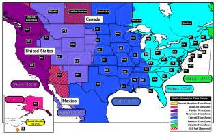 us map by time zones about www time gov