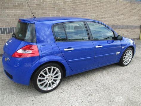 renault megane sport 2007 used 2007 renault megane hatchback blue edition 2 0 t 16v
