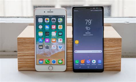 Galaxy Note 8 VS iPhone 8 Plus: Compare to 100th of Second