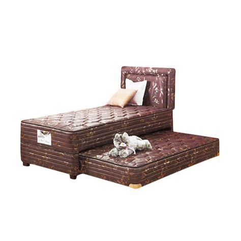 Kasur Bed 2 In 1 jual guhdo new prima 2 in 1 prospine springbed set