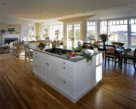 open floor plans with large kitchens open floor plan home