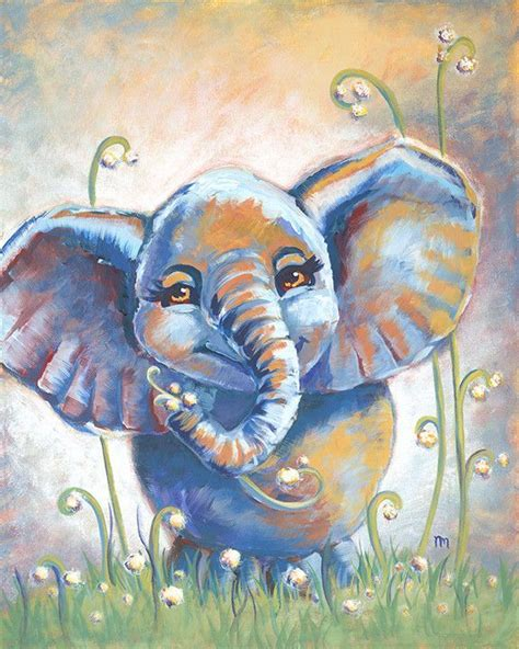 acrylic painting exles best 25 elephant canvas ideas on elephant