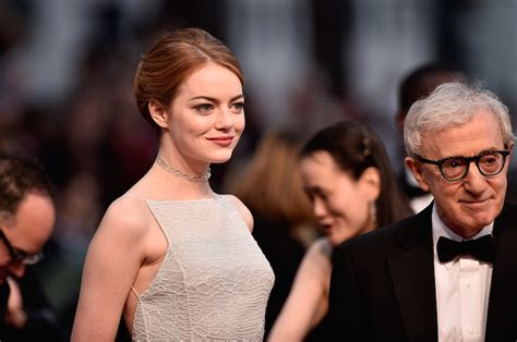 emma stone woody allen woody allen and emma stone aren t working out