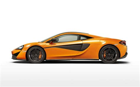 mclaren sports series: mclaren 570s coupé side view