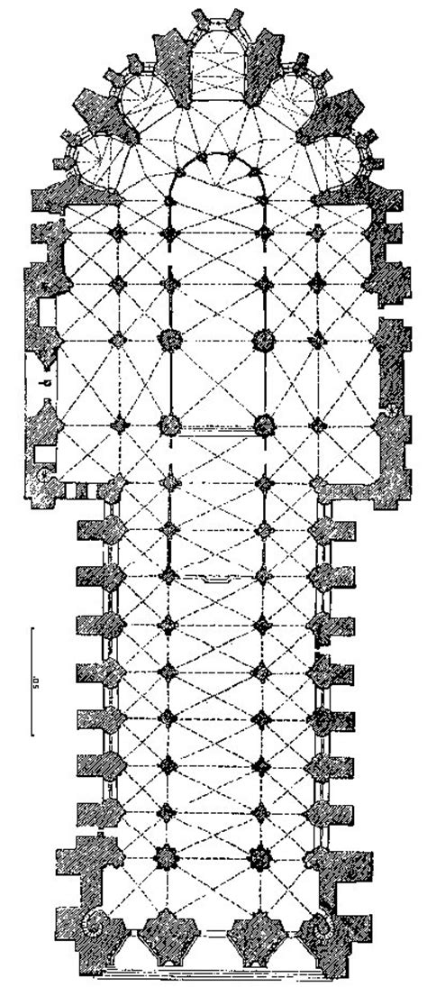 reims cathedral floor plan plan of amiens cathedral google da ara gothic