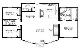 Cabin Open Floor Plans open floor plans log cabin modular homes one story open floor plans