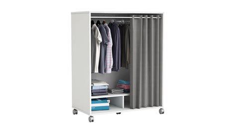 schrank mit vorhang kleiderschrank mana schrank garderobenschrank in wei 223 mit