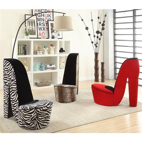 high heel chairs cheap high heel shoe fabric chair print cheap shoes and style