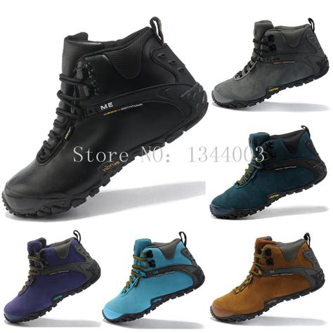winter hiking boots for s suede genuine leather winter hiking shoes s
