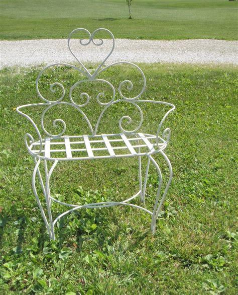 heart garden bench pin by rebecca hynum on wrought iron ideas pinterest