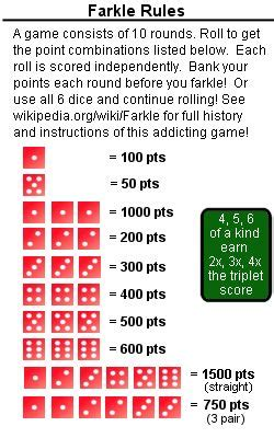 Printable Zilch Instructions | game columbia and hospitals on pinterest