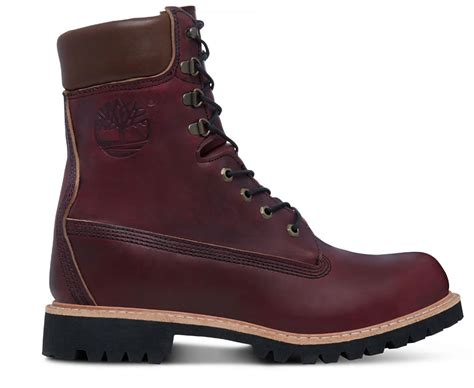timberland s usa made 8 inch icon boot oxblood