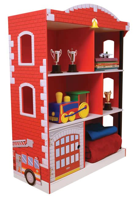 Kidkraft Firehouse Bookcase Firehouse Bookcase