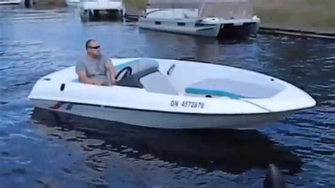 bayliner jazz boat review 1995 15 sugar sand mirage jet boat 120hp merc sport