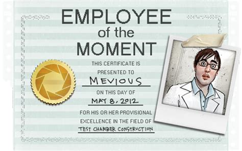 employee of the month poster template news portal 2 official