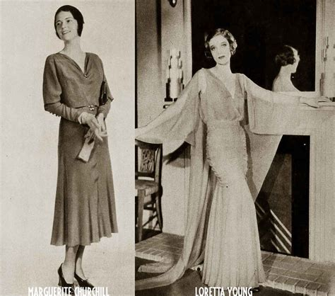 1930s fashion lines for 1931 glamourdaze