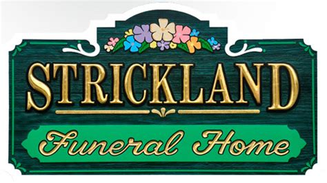 strickland funeral home and crematory in river