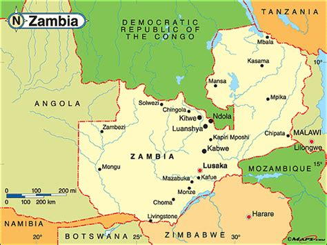map of lusaka city largest cities in zambia pictures to pin on