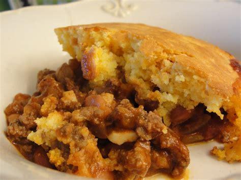 chili bake chili cornbread casserole 18