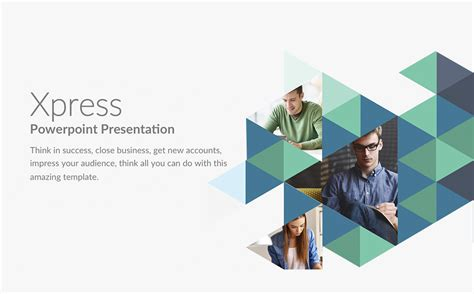 Xpress Powerpoint Template 63886 Department Overview Presentation Template