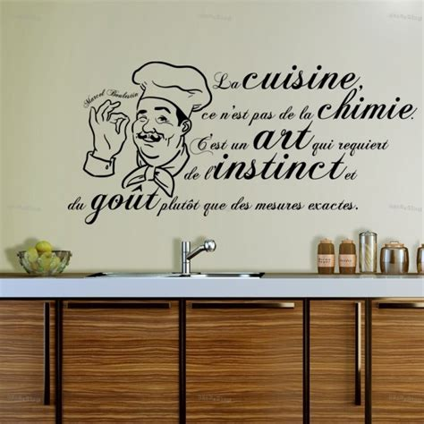 stickers citation cuisine stickers la cuisine est un jpg 600 215 600 citations