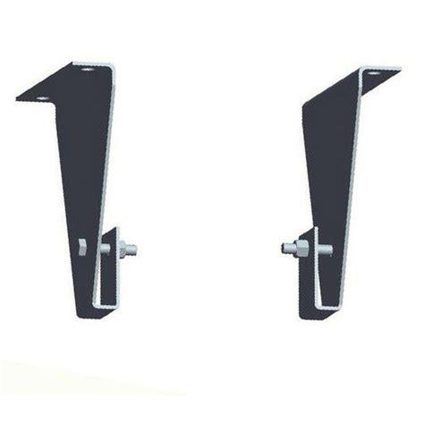 fissaggio mensole mensole di fissaggio per scala con gabbia di protezione
