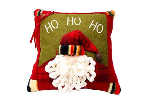 lovely christmas xmas santa throw pillow j03614 buy at