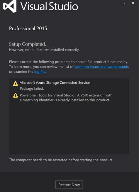 installing visual studio 2015 msdnmicrosoftcom visual studio 2015 pro installation is quot corrupt quot