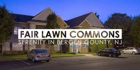 One Bedroom Apartments Nj Fair Lawn Commons Serenity In Bergen County Nj