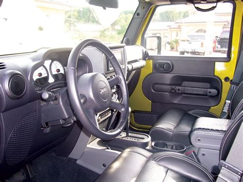 4 Door Jeep Interior 2007 Jeep Wrangler Custom 4 Door War Wagon 71676