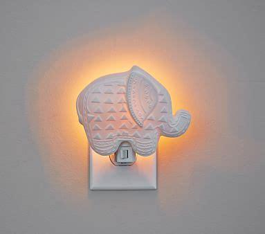 whale night light pottery barn ceramic elephant nightlight pottery barn kids