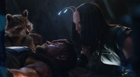will vision show up in thor 3 guardians 2 or captain avengers infinity war new photo shows thor being cared by