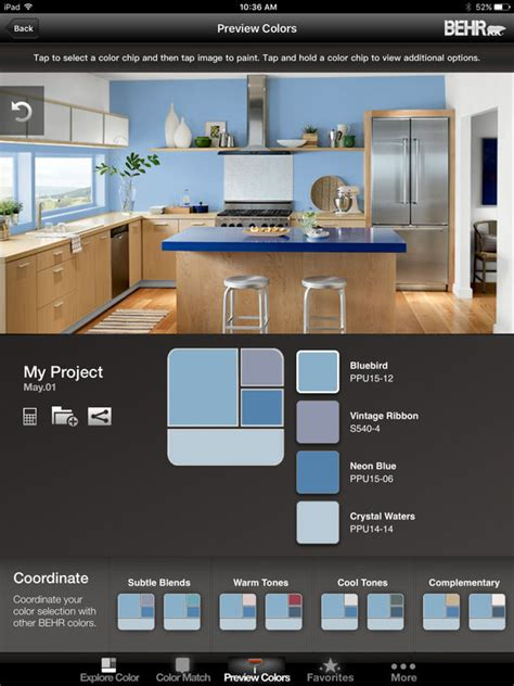 home depot behr paint app colorsmart by behr 174 mobile on the app store