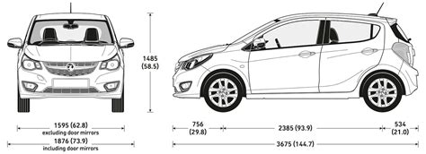 what is the length of a smart car vauxhall viva sizes and dimensions guide carwow