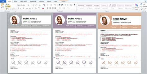 Exemple De Cv Format Word by Modele Cv 2017 Word Gratuit