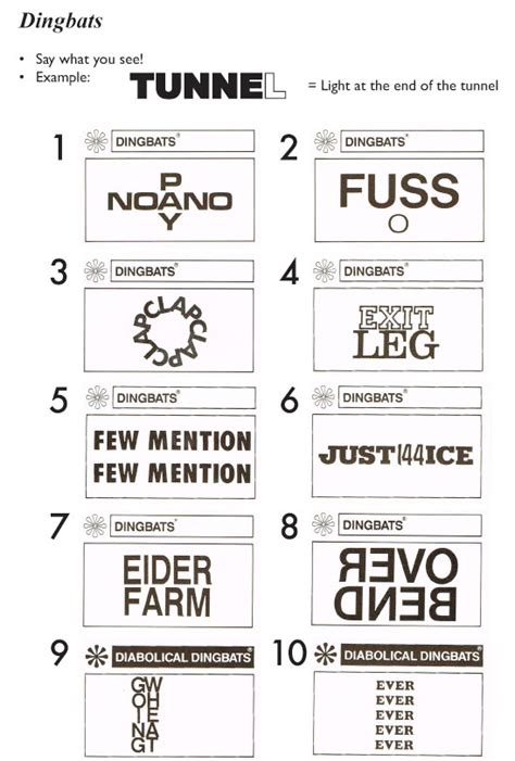 quiz questions dingbats dingbats answers related keywords dingbats answers long