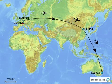 Brief Schweiz Nach Australien Reise Nach Australien Mirjam Landkarte F 252 R Die Schweiz