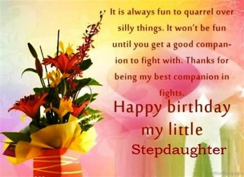 Happy Birthday Wishes To My 70 Step Daughter Birthday Wishes