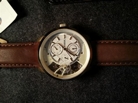 Fossil Original Fs4872 ca fossil townsmen twist mechanical gold tone me1137 with