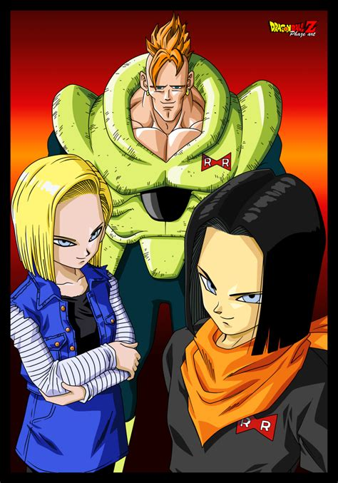z androids androids c 16 c 17 and c 18 by phazen1 on deviantart