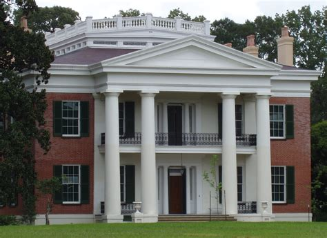 greek revival house southern architecture pinterest melrose natchez mississippi wikipedia the free