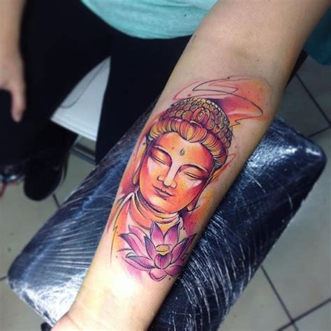 watercolor tattoos alberta bud ab tatuaje watercolor budha buddha