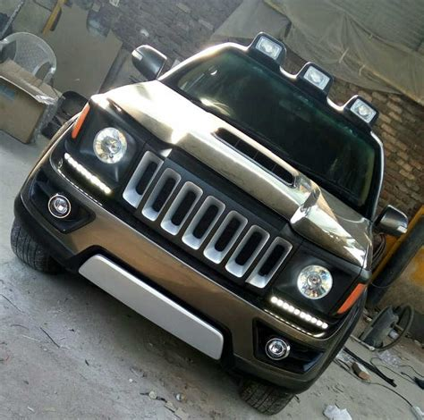 modded jeep renegade toyota fortuner modified to look like a jeep renegade