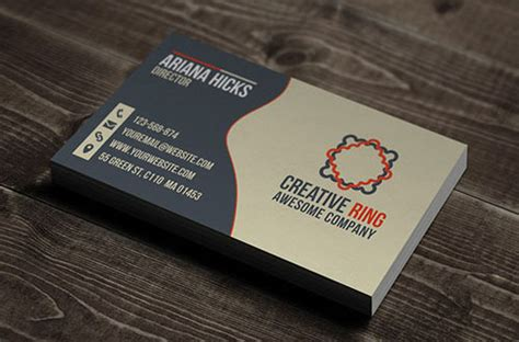 Totally Free Business Card Templates by Business Card Template